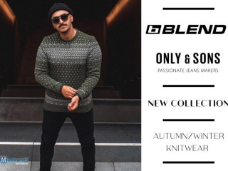 BLEND AND ONLY&SONS MEN'S KNITWEAR COLLECTION - 5,60 EUR / PIECE